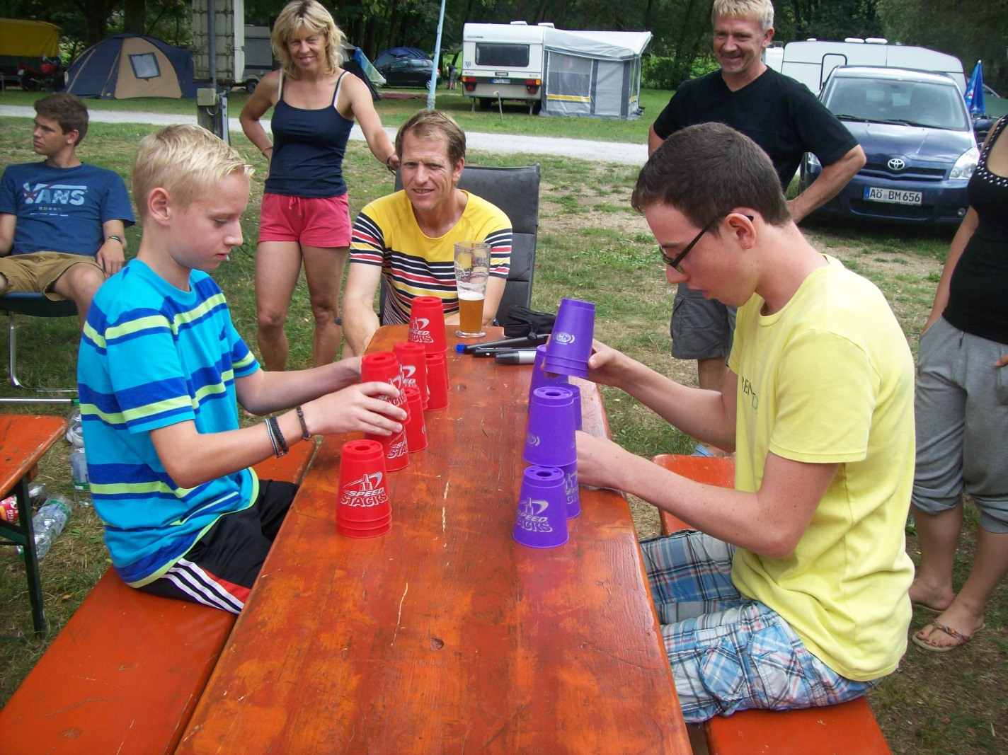 Speed Stacking in Schnitzmühle