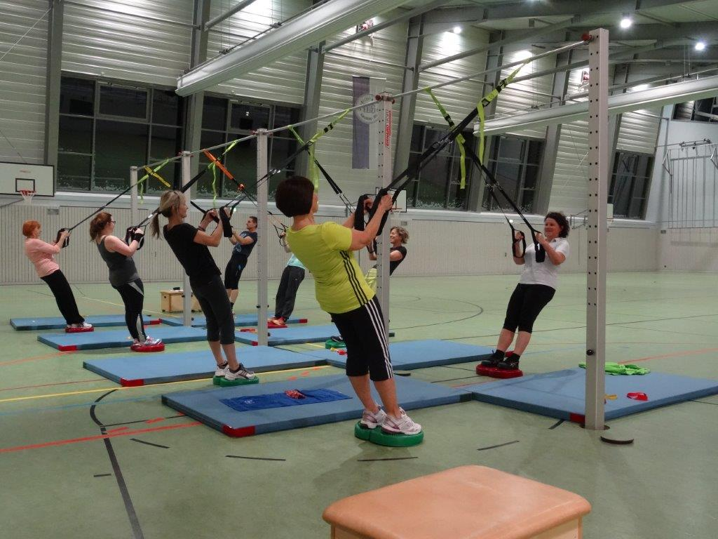 Training an den Schlingen